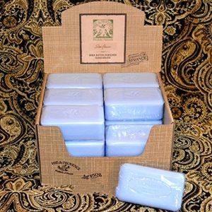 Case of 18 Pre de Provence Starflower Scent 150 gram shea butter large soap bars