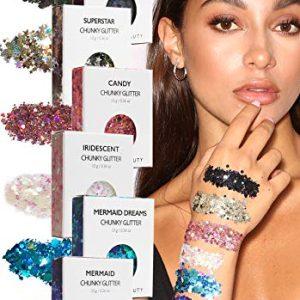 Face Glitter Pack ✮ KARIZMA Beauty ✮ 60g Festival Glitter Cosmetic Chunky Face