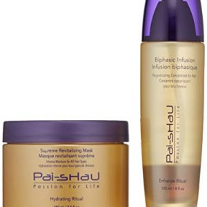 Pai-Shau Biphasic Infusion and Supreme Revitalizing Mask