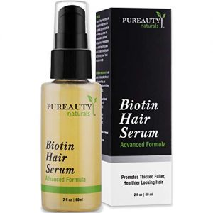 Biotin Hair Growth Serum Advanced Topical Formula To Help Grow Healthy