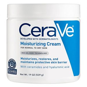 CeraVe Moisturizing Cream | 19 Ounce | Daily Face and Body Moisturizer