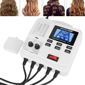 Hair Perm Machine, Small Safe Portable Digital PTC Heating Hair Perm Machine