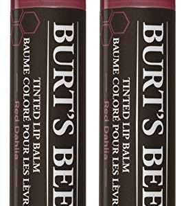 Burt's Bees 100% Natural Tinted Lip Balm, Pack of 2