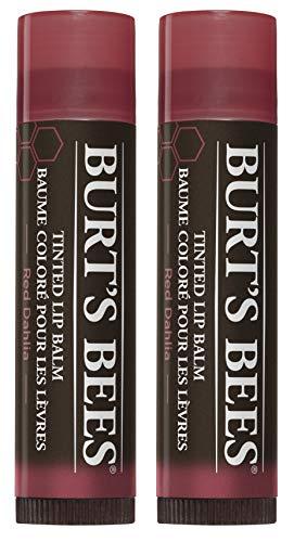 Burt's Bees 100% Natural Tinted Lip Balm, Pack of 2