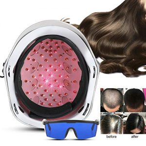 Anti Hair Loss Helmet with 650nm Soft Light, LED Hair Growth Cap for Men