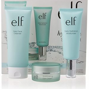 e.l.f. Hello, Hydration 3Piece Starter Set with Cleanser, Moisturizer