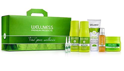 Wellness Premium Products Top 7 Box Including Hemp Seed Oil Shampoo