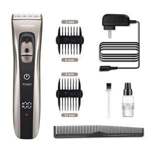 Hair Clippers, Yimaler Cordless Hair Trimmer for Men Electric Hair Cutting Kit