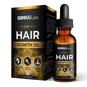 GENIUS Hair Growth Oil for Stronger, Thicker, Longer Hair, Hair Growth Treatment