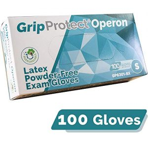 GripProtect® Operon Latex Exam Gloves, Disposable