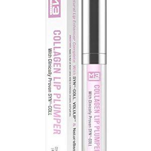 M3 Naturals Collagen Lip Plumper Clinically Proven Natural Lip Enhancer