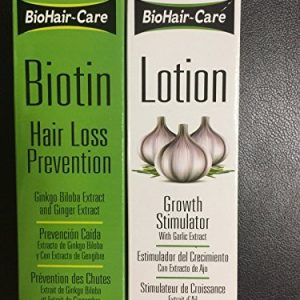 BioHair-Care Biotin Hair Loss Prevention + Growth Simulator Lotion