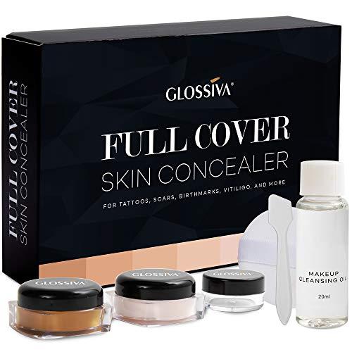 Glossiva Tattoo Concealer - Skin Concealer - Waterproof - For Dark Spots