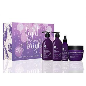 Luseta Color Brightening Complete Haircare Set for Blonde and Gray Hair
