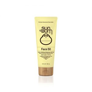 Sun Bum Original SPF 50 Sunscreen Face Lotion | Vegan and Reef Friendly (Octinoxate & Oxybenzone Free) Broad Spectrum Fragrance-Free Moisturizing UVA/UVB Sunscreen with Vitamin E | 3 oz