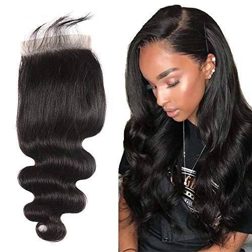 AlipearlHair 6×6 Lace Closure Body Wave Human Hair 8A Brazilian Virgin Hair Free