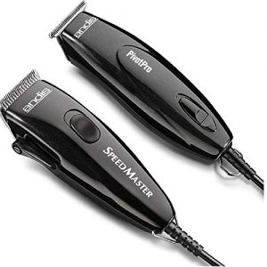 Andis Pivot Motor Adjustable Blade Clipper/Trimmer Hair Cutting Combo Kit