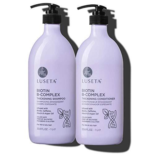 Luseta Biotin B-Complex Shampoo & Conditioner Set for Hair Growth