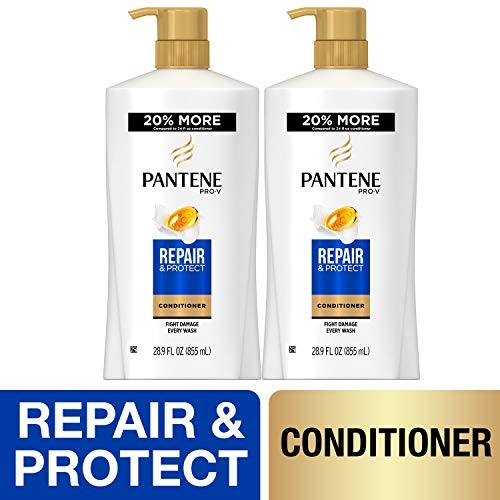 Pantene, Sulfate Free Conditioner, Pro-V Repair and Protect for Damaged Hair