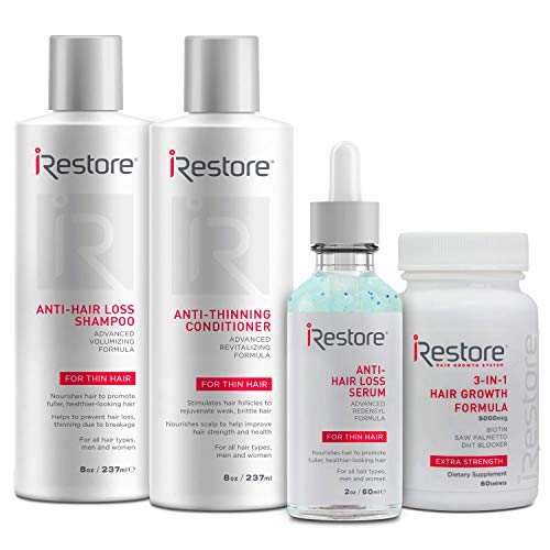SaIe: iRestore Max Growth Bundle includes the 3-in-1 Hair Growth Supplement