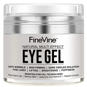Anti Aging Eye Gel - Made in USA - for Dark Circles, Puffiness, Wrinkles
