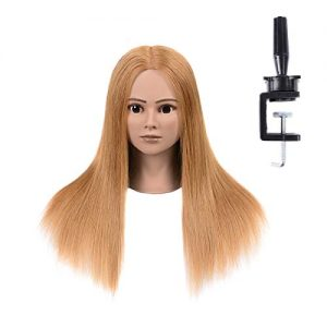 Mannequin Head With 100% Human Hair Mannequin Training Head Can Be Perm