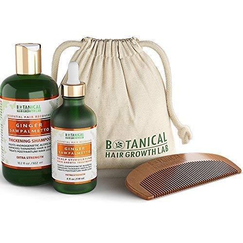 Botanical Hair Growth Lab Anti Hair Loss Shampoo and Pre-Shampoo