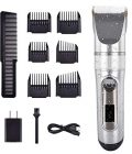 Cosyonall Hair Clippers for Men, Professional Cordless Beard Trimmer