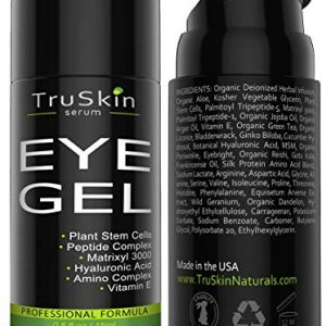 Best Eye Gel for Wrinkles, Fine Lines, Dark Circles, Puffiness, Bags