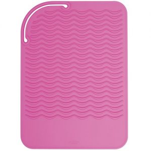 OXO Good Grips Heat Resistant Silicone Travel Mat for Curling Irons and Flat Irons