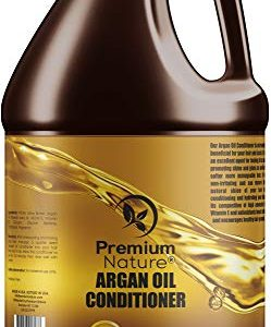 Argan Oil Deep Hair Conditioner - Sulfate Free Natural Moisturizer Hair Growth