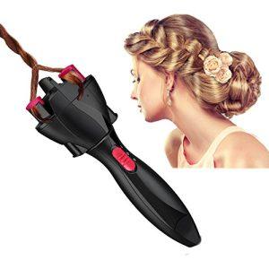FIGHTART Gift Idea hair roller hair braider quick twist black hair twister automatic