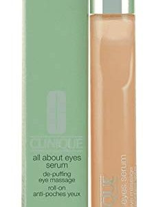 Clinique All About Eyes Serum for All Skin Types for Unisex, 0.5 Ounce