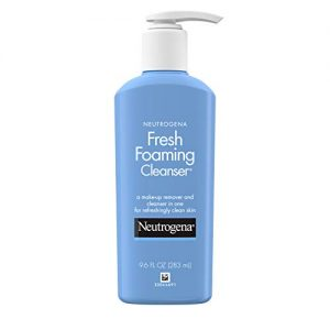 Neutrogena Fresh Foaming Facial Cleanser & Makeup Remover with Glycerin