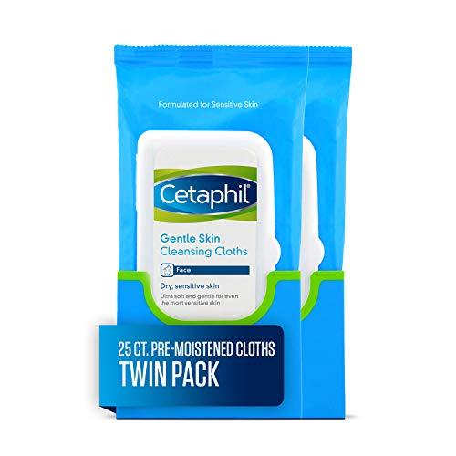 Cetaphil Gentle Skin Cleansing Cloths, 25 Count