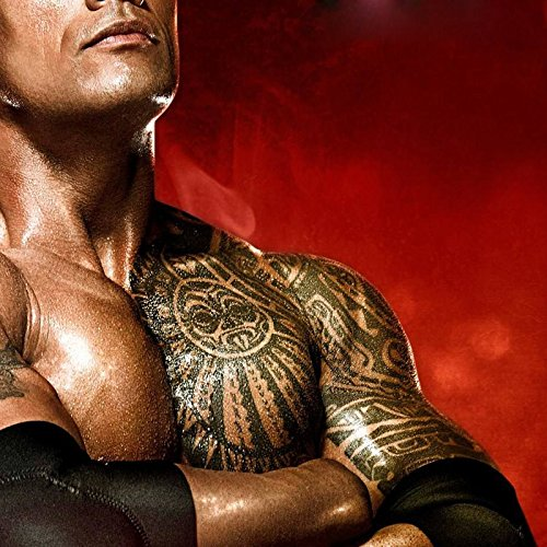 Leoars Extra Large Temporary Tattoo Similar the Rock Arm Chest Big Totem