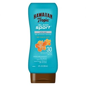 Hawaiian Tropic Island Sport Sunscreen Lotion, Ultra Light, High Performance