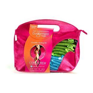 Curlformers Hair Curlers Corkscrew Curls Styling Kit, 40 Hair Curlers