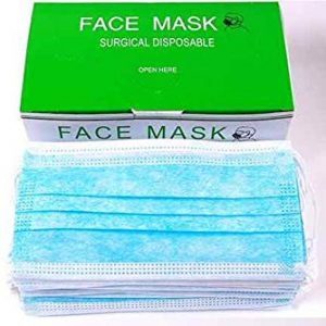 Professional Disposable Face Mask (3-Ply) with Earloop for Virus, Bacteria