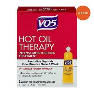 Alberto Vo5 Hot Oil Intense Conditioning Treatment, 0.5 Ounce