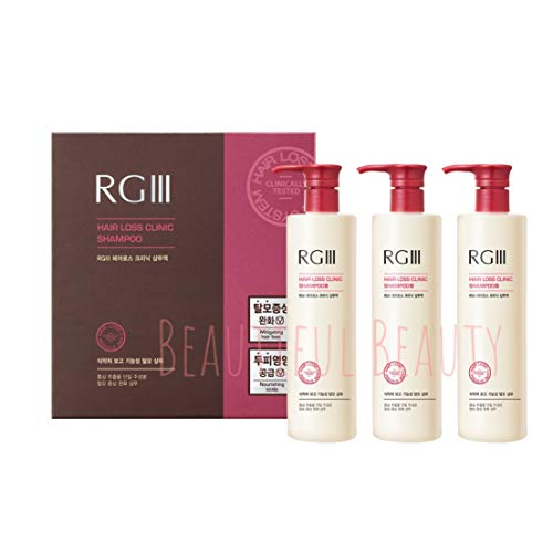RGIII Hair Regeneration Clinic Shampoo with Purified Red Ginseng Saponin