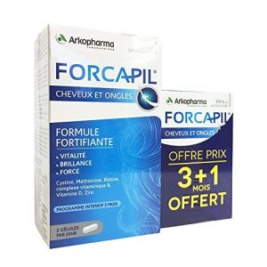 Arkopharma Forcapil Vitamins for Hair Loss, Volumizing, and Nails