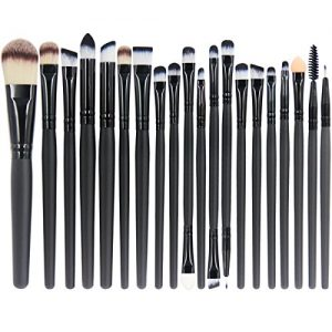 EmaxDesign 20 Pieces Makeup Brush Set Professional Face Eye Shadow