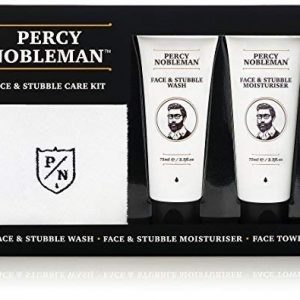 Face & Stubble Care Kit by Percy Nobleman - Sale Now On - A Men's Skin Care