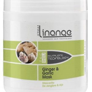 Linange Ginger and Garlic Mask 1000ml; Softening, Strengthening