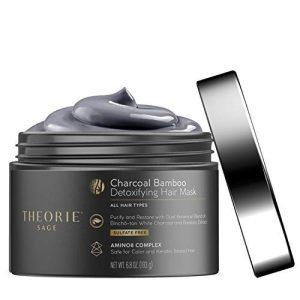 Theorie Charcoal Bamboo Detoxifying Hair Mask
