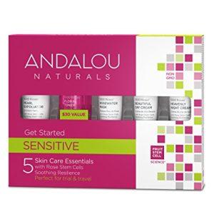 Andalou Naturals 1000 Roses 5 Piece Get Started Kit