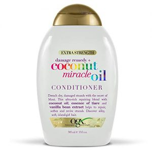 OGX Extra Strength Damage Remedy + Coconut Miracle Oil Conditioner