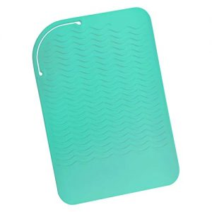 "Sygile 11"" X 7.5"" Larger Size Heat Resistant Silicone Travel Mat, Anti-heat Pad"
