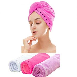 3 Pack Microfiber Hair Towel Wrap BEoffer Super Absorbent Twist Turban